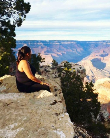 Living my best life while enjoying the Grand Canyon