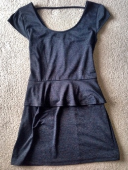 This dress is perfect with black tights and a black heel. I wore this to a winter bday party. TO DIE!