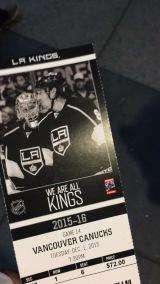 Nucks Suck! First game!