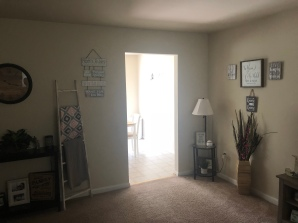 More accents in living room
